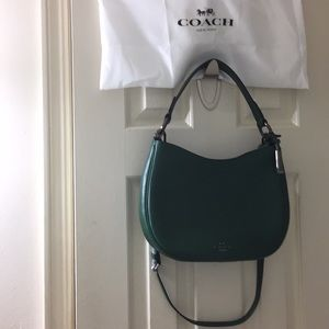 f408d7e9d0 COACH Bags - Coach Racing Green Nomad Glovetanned Leather Hobo
